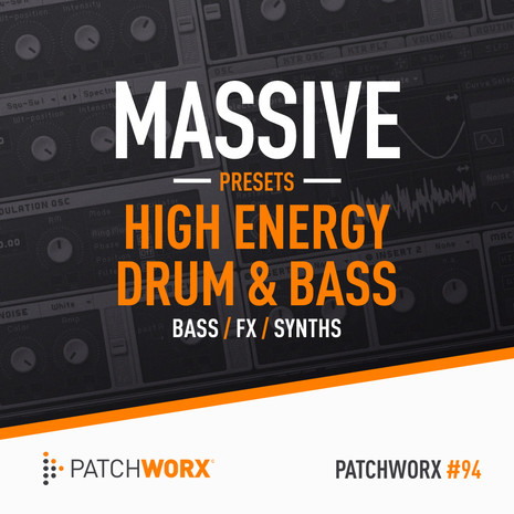 Patchworx 94: High Energy DnB Massive Presets