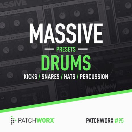 Patchworx 95: Massive Drum Presets