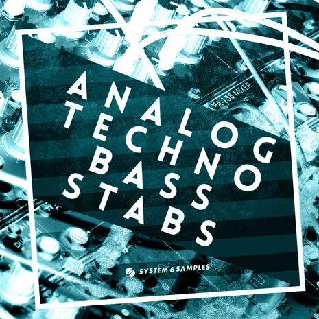 Analog Techno Bass Stabs
