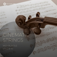 Cinematic Strings MIDI Bundle (Vols 6-10)