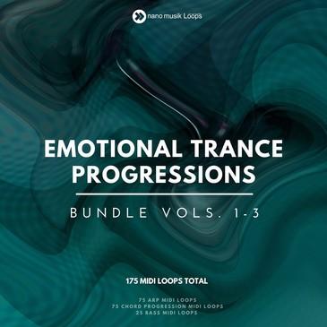 Emotional Trance Progressions Bundle (Vols 1-3)
