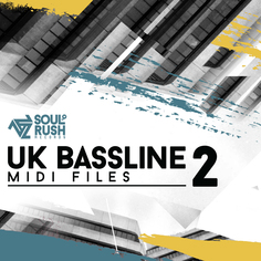 UK Bassline MIDI Files Vol 2