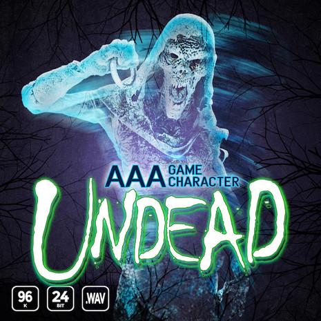AAA Game Character Undead