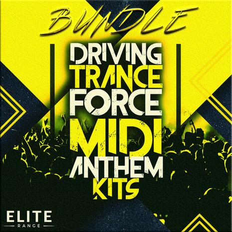 Driving Trance Force MIDI Anthem Kits Bundle