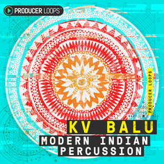 Download Producer Loops KV Balu: Modern Indian Percussion