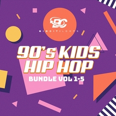90s Kid Hip Hop Bundle Vol 1-5