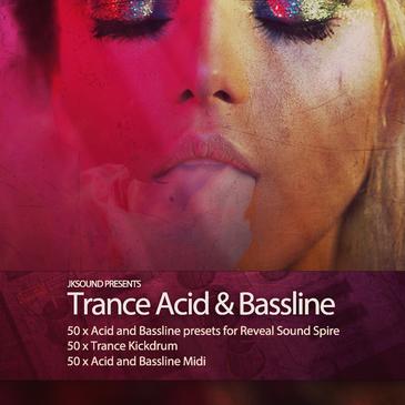 Trance Acid & Bassline For Spire