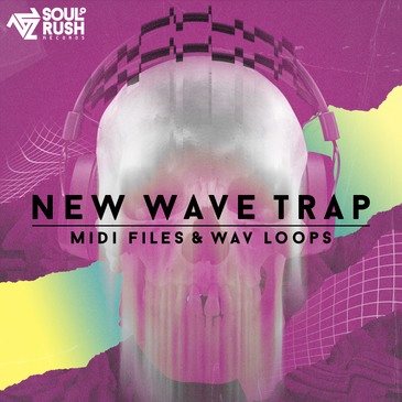 New Wave Trap: MIDI Files & WAV Loops