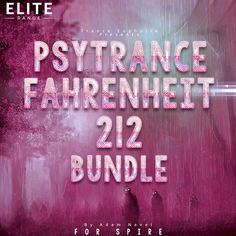Psytrance Fahrenheit 212 For Spire Bundle