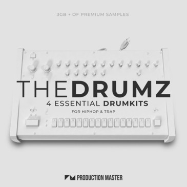 The Drumz: Essential Drumkits for Hip Hop & Trap