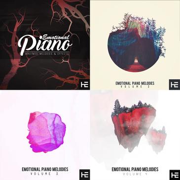 Emotional Piano Melodies Bundle