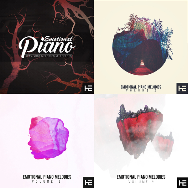 Emotional Piano Melodies Bundle