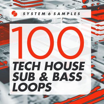 100 Tech House Sub & Bass Loops