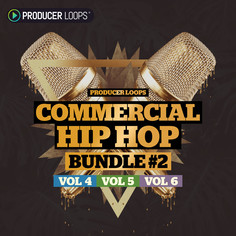 Commercial Hip Hop Bundle (Vols 4-6)