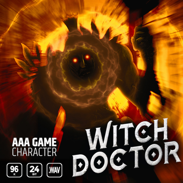 AAA Game Character: Witch Doctor