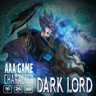 AAA Game Character: Dark Lord