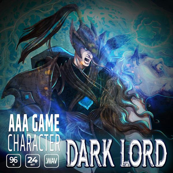 AAA Game Character: Dark Lord