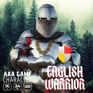 AAA Game Character English Warrior