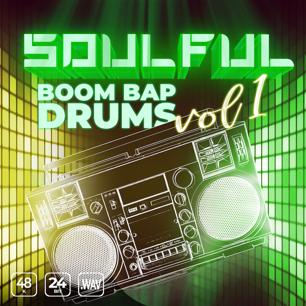 Soulful Boom Bap Drums Vol 1