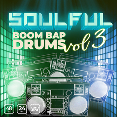 Soulful Boom Bap Drums Vol 3