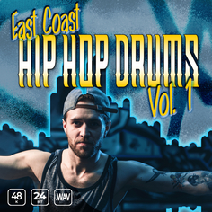 East Coast Hip Hop Drums Vol 1