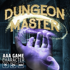 AAA Game Character Dungeon Master