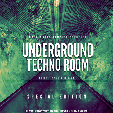Underground Techno Room Special Edition