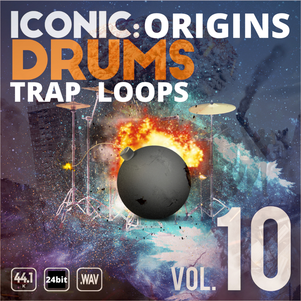 Iconic Origins Trap Drum Loops Vol 1