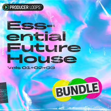 Essential Future House Bundle (Vols 1-3)