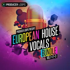 European House Vocals Bundle (Vols 1-3)