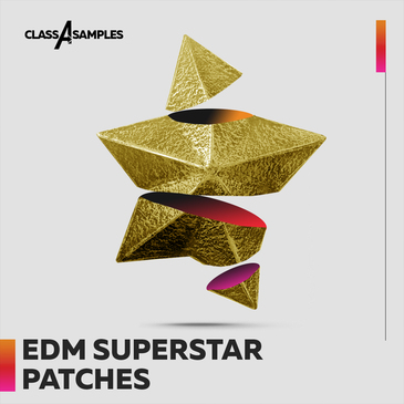 EDM Superstar Patches
