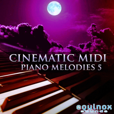 Cinematic MIDI Piano Melodies 5