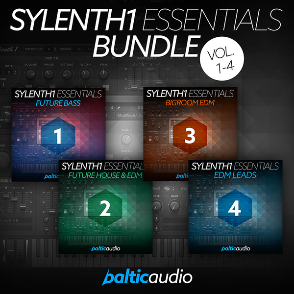 Sylenth1 Essentials Bundle (Vols 1-4)