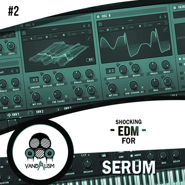 Shocking EDM For Serum 2