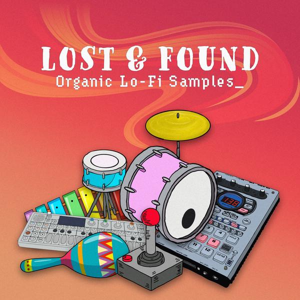 Lost & Found Organic Lo-fi Samples