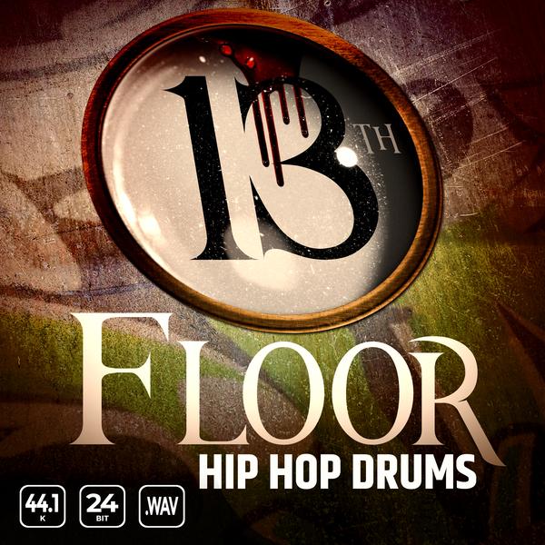 13th Floor Hip Hop Drums Vol 1