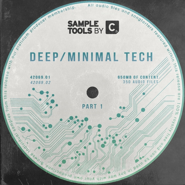 Sample Tools by Cr2: Deep Minimal Tech