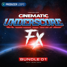Cinematic Underscore FX Bundle 1 (Vols 1-3)