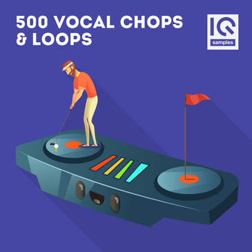 500 Vocal Chops & Loops