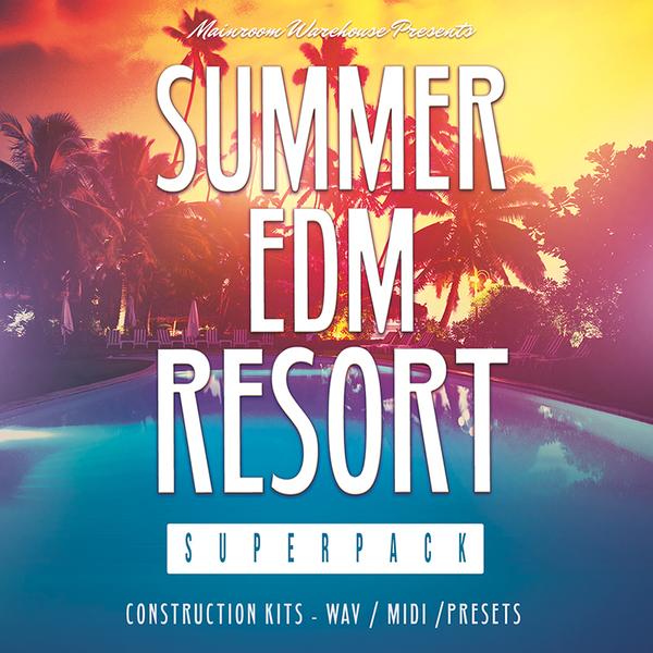 Summer EDM Resort Superpack