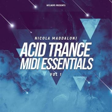 Nicola Maddaloni Acid Trance MIDI Essentials Vol 1