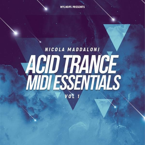 Nicola Maddaloni Acid Trance MIDI Essentials Vol 1