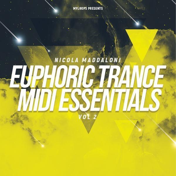 Nicola Maddaloni Euphoric Trance MIDI Essentials Vol 2