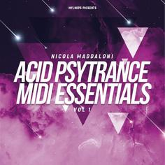 Nicola Maddaloni Acid PsyTrance MIDI Essentials Vol 1