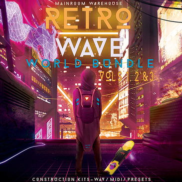 Retrowave World Bundle Vols 1, 2 & 3