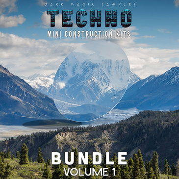 Techno Mini Construction Kits Bundle Volume 1