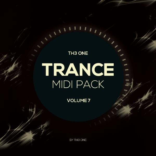 TH3 ONE: Trance MIDI Pack Vol 7