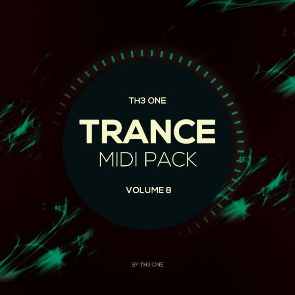 TH3 ONE: Trance MIDI Pack Vol 8