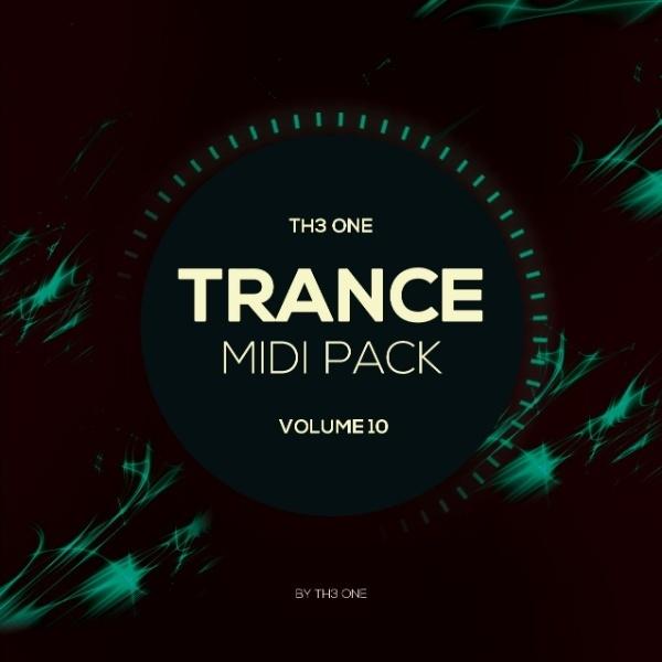 TH3 ONE: Trance MIDI Pack Vol 10