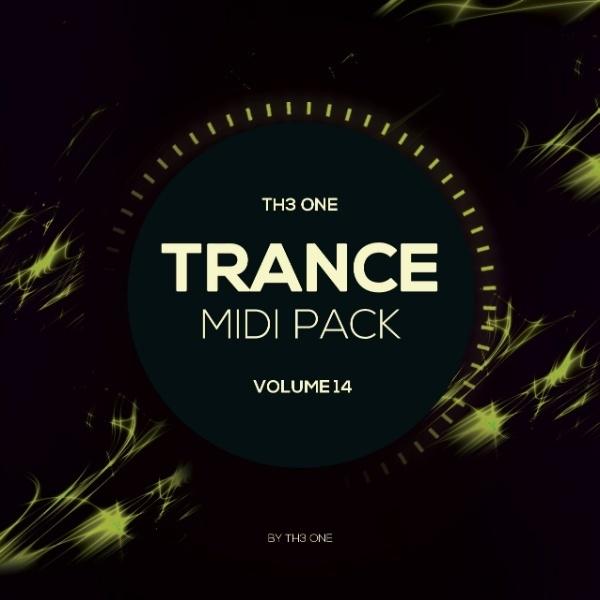 TH3 ONE: Trance MIDI Pack Vol 14